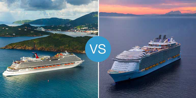 Carnival Vista vs. Harmony of the Seas: Smackdown!
