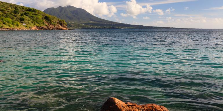 st martin cupecoy beach caribbean