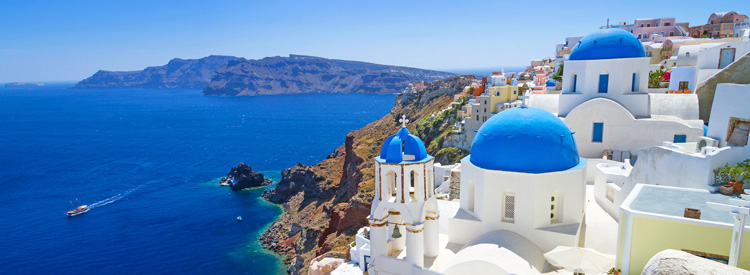 europe cruise destinations santorini greece cruises