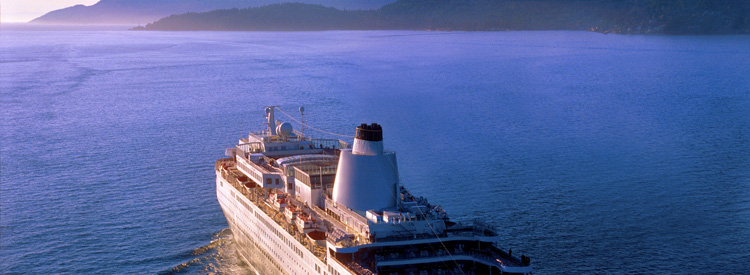 world cruise destinations ship at sea